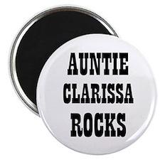 "AUNTIE CLARISSA ROCKS 2.25"" Magnet (10 pack)"