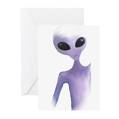 Alien Design Greeting Cards (Pk of 10)