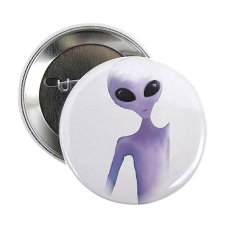 "alien design 2.25"" Button"