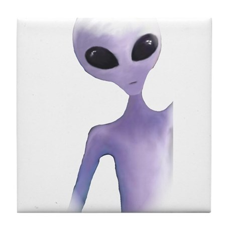 Alien Design Tile Coaster