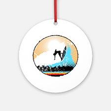 Surf Ornament (Round)