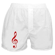 Red Clef Boxer Shorts