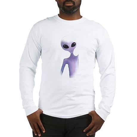 Alien Design mens Long Sleeve T-Shirt