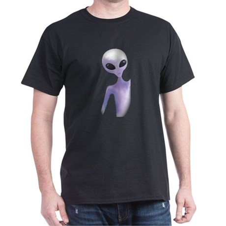 Alien Design mens Dark T-Shirt