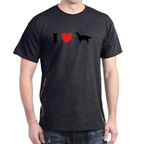 I Heart English Setter Dark T-Shirt