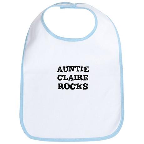 AUNTIE CLAIRE ROCKS Bib