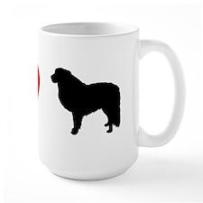 I Heart Great Pyrenees Mug