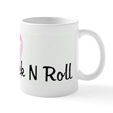 Team Rack N Roll pink ribbon Mug