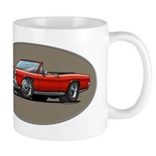 Red GTO convertible Mug