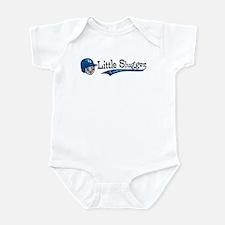 Little Slugger Blue Infant Bodysuit