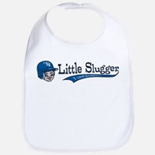 Little Slugger Blue Bib