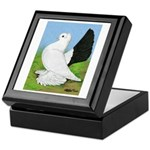 Russian Pigeon Keepsake Box