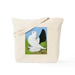 Russian Pigeon Tote Bag
