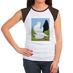 Russian Pigeon Women's Cap Sleeve T-Shirt