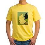 Russian Pigeon Yellow T-Shirt