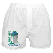 Save The Earth Boxer Shorts