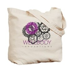 Wellbody Dragonfly Logo Tote Bag