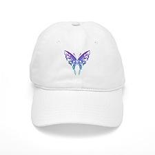 Butterfly Tat BluenGreen (91) Baseball Cap