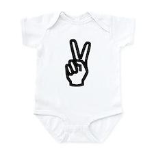 Peace Hand Infant Bodysuit