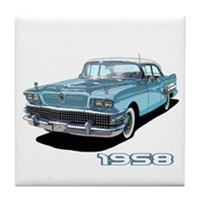 Cute Buick Tile Coaster