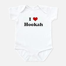 I Love Hookah Infant Bodysuit