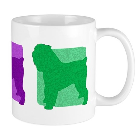 Color Row Brussels Griffon Mug