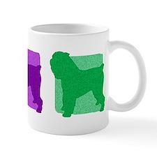 Color Row Brussels Griffon Mug