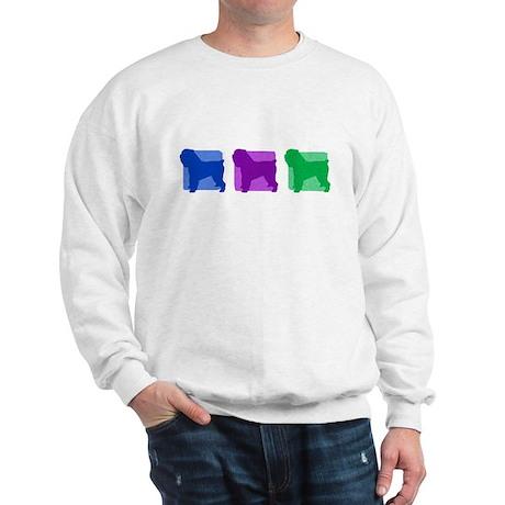 Color Row Brussels Griffon Sweatshirt