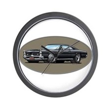 66-67 Black GTO Wall Clock