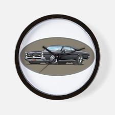 66-67 Black GTO Wall Clock