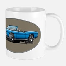 66-67 Blue GTO Convertible Mug