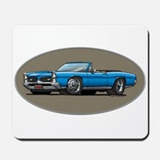 66-67 Blue GTO Convertible Mousepad