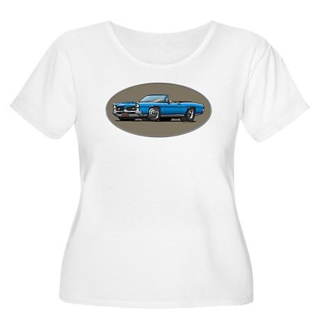 66-67 Blue GTO Convertible Women's Plus Size Scoop