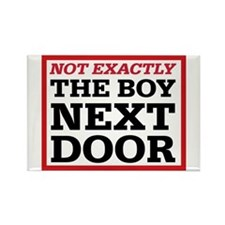Dexter: Boy Next Door Rectangle Magnet