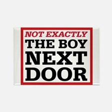 Dexter: Boy Next Door Rectangle Magnet