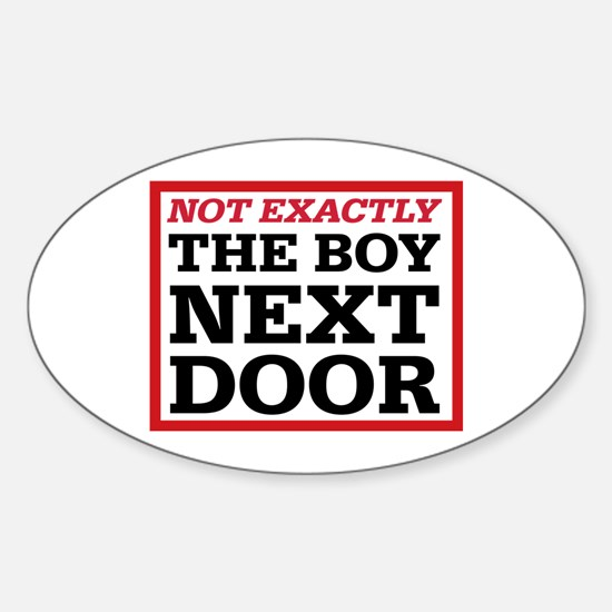 Dexter: Boy Next Door Oval Decal