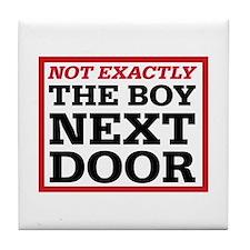 Dexter: Boy Next Door Tile Coaster