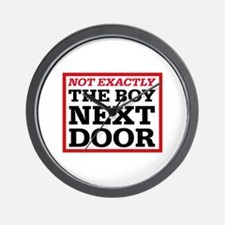 Dexter: Boy Next Door Wall Clock