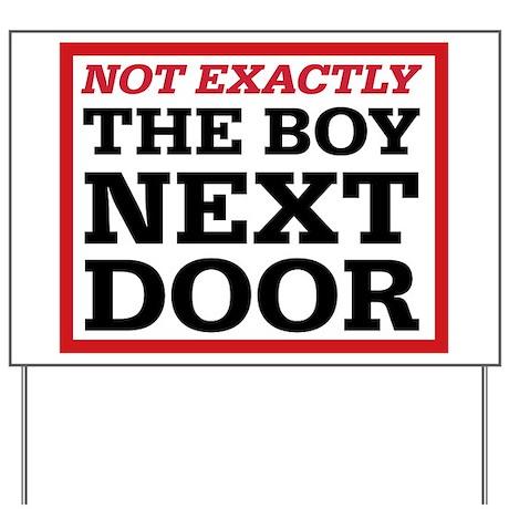 Dexter: Boy Next Door Yard Sign