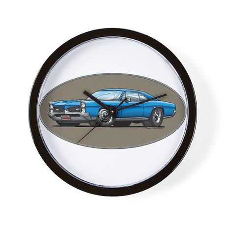 66-67 Blue GTO Wall Clock