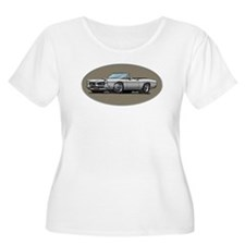 66-67 White / Silver GTO Convertible T-Shirt