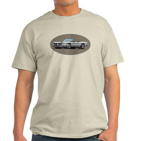 66-67 White / Silver GTO Convertible Light T-Shirt