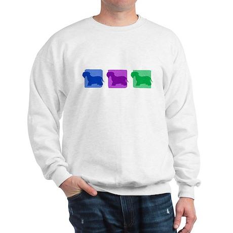 Color Row Cesky Terrier Sweatshirt