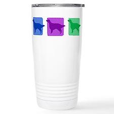 Color Row English Setter Travel Mug
