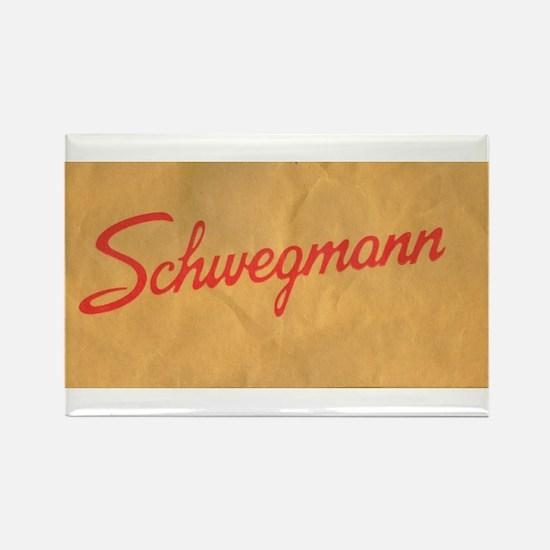 Schwegmann Bag Rectangle Magnet