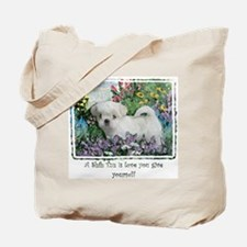 Lily Summer Tote Bag