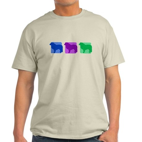 Color Row Great Pyrenees Light T-Shirt