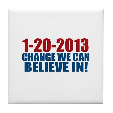 1-20-2013 Believe Tile Coaster
