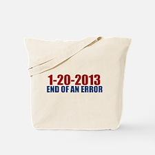 1-20-2013 End of Error Tote Bag