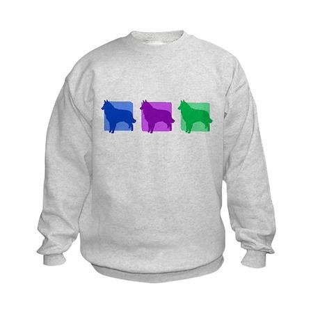 Color Row Tervuren Kids Sweatshirt